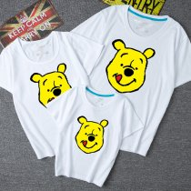 Matching Family Prints Winnie the Pooh Famliy T-shirts