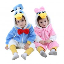 Baby Donald Duck Onesie Kigurumi Pajamas Kids Animal Costumes for Unisex Baby