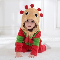 Baby Red In the Night Garden Flower Baby Onesie Kigurumi Pajamas Kids Animal Costumes for Unisex Baby