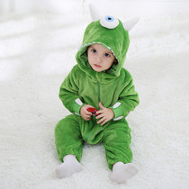Baby Green Cyclops Monster Onesie Kigurumi Pajamas Kids Animal Costumes for Unisex Baby