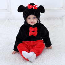 Baby Black Red Mickey Onesie Kigurumi Pajamas Kids Animal Costumes for Unisex Baby