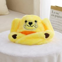 Seals Animal Movable Ears Jumping Soft Plush Hat
