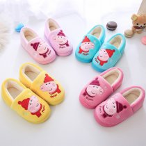 Toddlers Kids Christmas Peppa Pig Warm Winter Home House Slippers Shoes