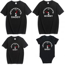 Matching Family Back Prints Instrument Panel  T-shirts