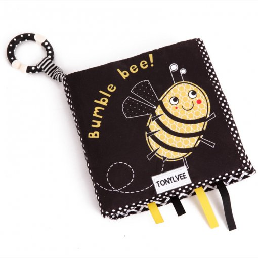 Baby's First Bumble Bee Story Cloth Book