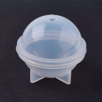 Silicone Moulds, Resin Casting Molds, Clear, 48x43mm; Inner Diameter: 40mm