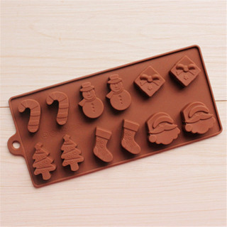 Rectangle Christmas Style Silicone Cube Moulds227x100x15mm CoconutBrown Resin Craft Molds for DIY and Craft Making