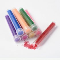 Mini Glass Beads for resin, Mixed Color, 0.6~0.8mm, 8boxes/set