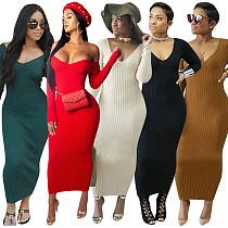 Long Sleeves Bodycon Dress CM268