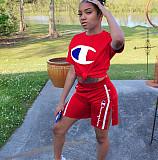 Hot Sale Women 2 Pieces Track Suits YT3051