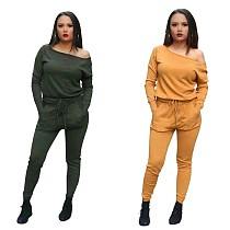 Solid Color Leisure Bodycon Jumpsuits For Daily Wear L0236
