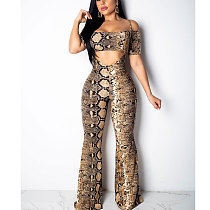 Strappy Bandeau Wide Leg Casual Jumpsuits CY1120