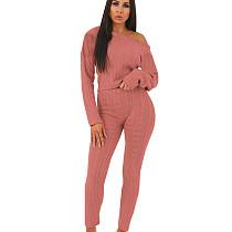 الوردي ملابس نسائية بالجملة البلوزات الشتاء لون نقي مجموعة QQM3583
