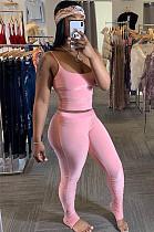 Rosa Cami Top & Shirred Detail Skinny Pants Sets YX9205