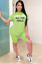 Рубашка с длинными рукавами и принтом в виде зеленой рубашки спереди SY8521