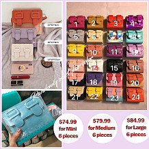 Colors Cross Bag(Mini, Medium, Large)