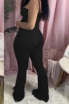 Casual mouwloze cami-jumpsuit met blote schouders