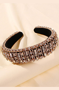 Women's Hair Band Decor with Alloy Imitation Drill XDSP2277