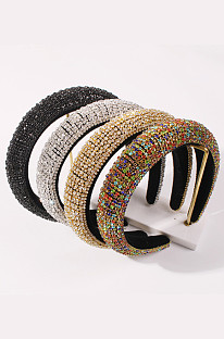 Women's Hair Band Decor with Alloy Imitation Drill XDSP2414