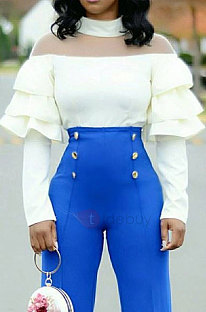Polyester Long Sleeve Round Neck KSN5061