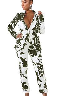 Casual Polyester Long Sleeve Sets KSN5069