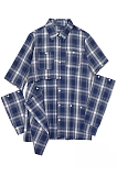 Newin Good Cut Design Long Sleeves Buttons Blouse Plaid Shirt ZS0316-A