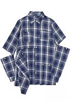 Newin Good Cut Design Long Sleeves Buttons Blouse Plaid Shirt ZS0316-A