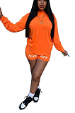 Casual letter-offset leisure sports suit LM052