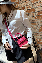 Simplee Crocodile Graphic Mini One Shoulder Bag GZYX9752