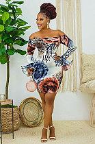 فستان فضفاض مثير بدون أكتاف WT9015