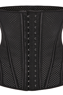 Sexy latex toning suit waist trainer corset MNS1909