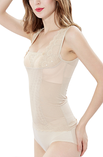 Thin Camisole Tight Lace Breast Wrap Breathable Shapewear DLX8201