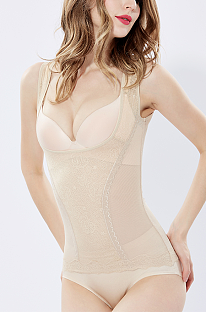 Thin Camisole Tight Lace Breast Wrap Breathable Shapewear DLX8202