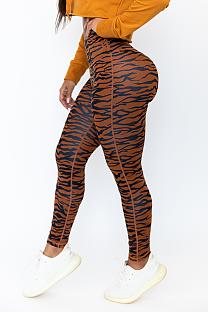 Casual sport printed yoga pants sport pants  BS1232