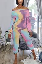Conjunto tie-dye casual e adorável MTY 6576