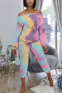 Casual and lovely tie-dye set MTY 6576