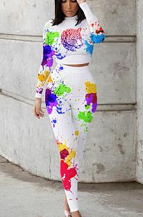 カジュアルで可愛らしい絞り染めスーツHY5185