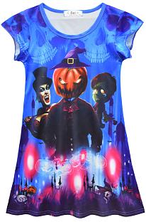 Halloween Kostuums Spookpatroon Meisjesjurk YBK3163