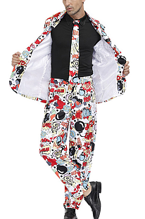 Halloween Party Clown Costume For Men A Suit PS4488