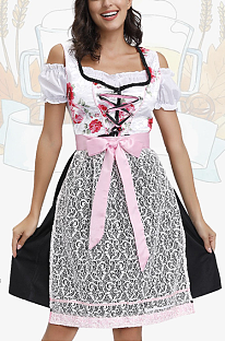 Halloween Costume Beer Girl Dress PS4521