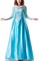 Fairy Cosplay Light Blue Tube Top DressPS9730
