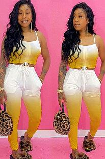 Casual Sling Middenrif Pocket Sexy Fashion Sets YR8014