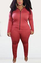 Casual Simplee Long Sleeve Lapel Neck Long Pants Sets EF20931