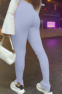 Mittlere Taille Kultivieren Sie die Moral Offene Gabel Enge Sexy Baumwollhose H1560