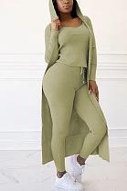 Повседневные брюки-майки с длинным рукавом и длинным рукавом с капюшоном Simplee, комплект из трех частей TRS1089