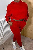 Fashion Casual Long Sleeve Hooded Sport Sets NL6031