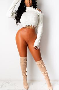Calça Capris Sexy Simplee de cintura alta CCY8771
