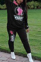 Casual Simplee Long Sleeve Hoodie Long Pants Sets TZ1169