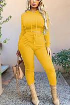 Casual Sporty Long Sleeve Hoodie Long Pants Sets TRS1091