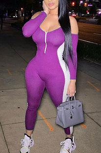 Womenswear Sexy Club Suit Spliced Jumpsuits FA7151